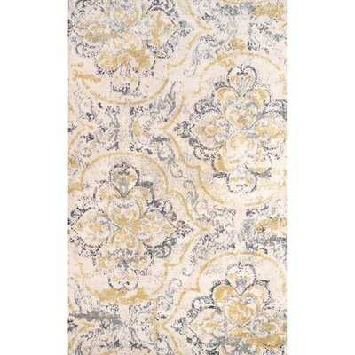 Zanesville Ivory/Yellow Area Rug - Wayfair