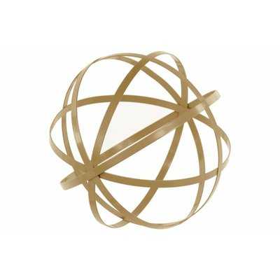 Heeter Orb Dyson Sphere Design Metal Sculpture with 5 Circles - Wayfair