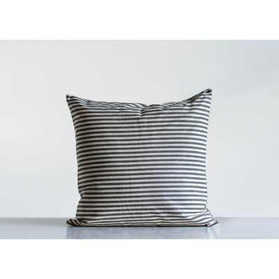 Ketron Striped Cotton Throw Pillow - Birch Lane