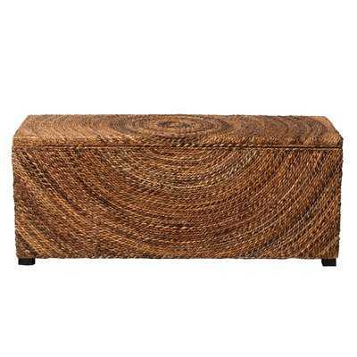 Wilmer Wood Storage Bench - Wayfair