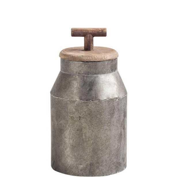 Mercana Oliphant I Decorative Object, Gray - Home Depot