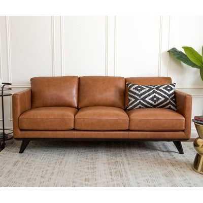 Norvin Leather Sofa - AllModern