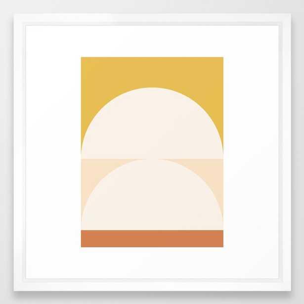 Abstract Geometric 01 Framed Art Print by Theoldartstudio - Society6