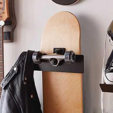 Skateboard Wall Display - Pottery Barn Teen