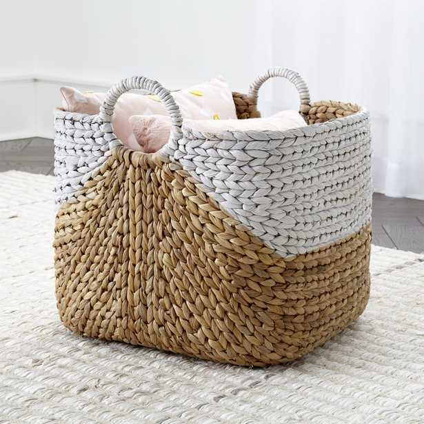 Water Hyacinth Basket - Crate and Barrel