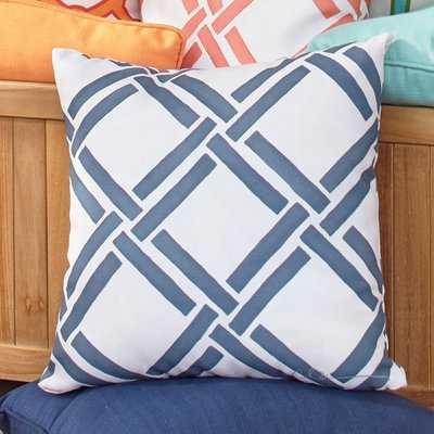 Lutz Outdoor Throw Pillow - Birch Lane