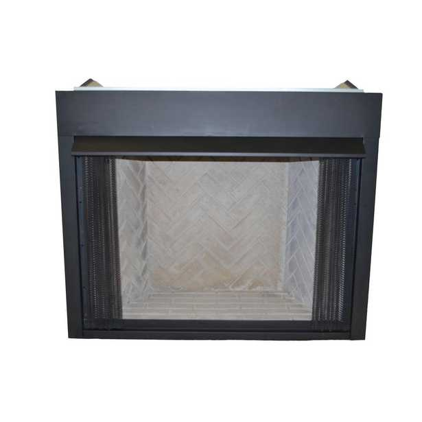 42 in. Vent-Free Natural Gas or Liquid Propane Low Profile Firebox Insert - Home Depot