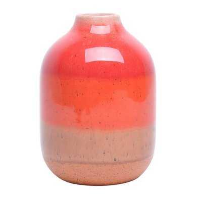 Orange Decorative Ceramic Table Vase - Wayfair
