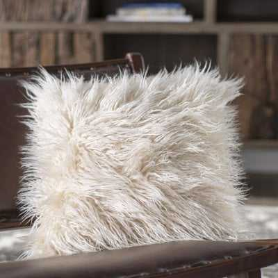 Faux Fur Throw Pillow - AllModern