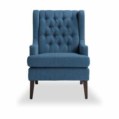 Keisha Wingback Chair - Wayfair