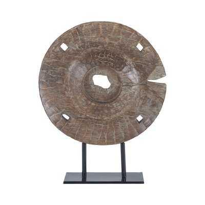 Bernette Albasia Wood Decorative Sculpture - Wayfair