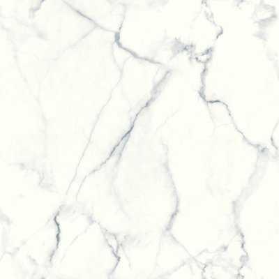 "Martina Carrara Marble 16.5' L x 20.5"" W Abstract Peel and Stick Wallpaper Roll - Birch Lane"
