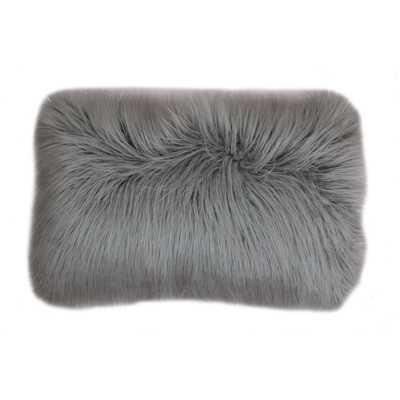 Vanbuskirk Faux Fur Lumbar Pillow - Wayfair