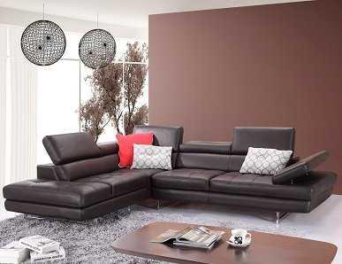 Hugo Leather Sectional - AllModern