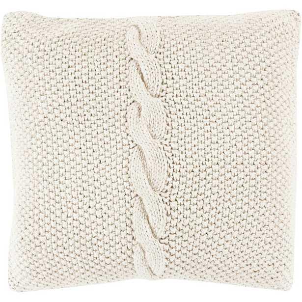 """Anaco Poly Euro Pillow, Khaki - 18"""" - Home Depot"""