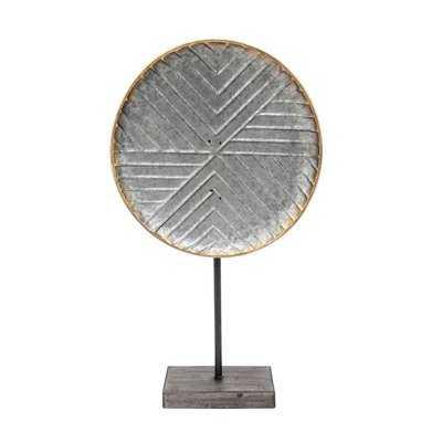 Emeraude Metal Table Top Sculpture - Wayfair