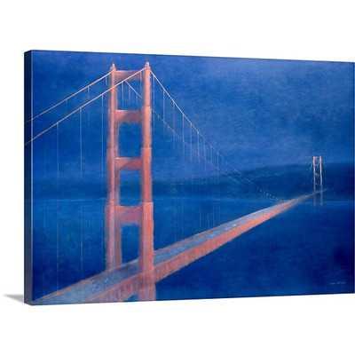 'San Fransisco, 2004' by Lincoln Seligman Painting Print - Wayfair