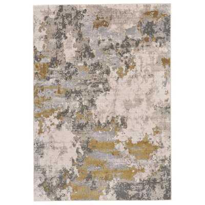 Reichenbach Gold/Birch Area Rug - Wayfair