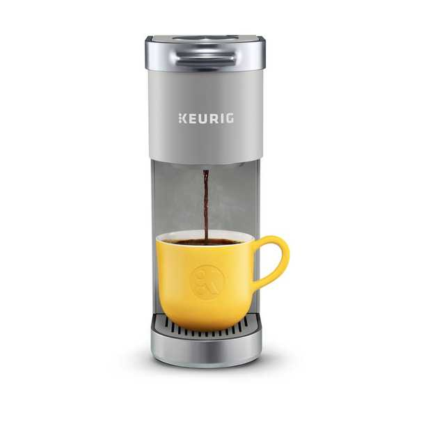 Keurig K-Mini Plus Studio Gray Single Serve Cofee Maker - Home Depot