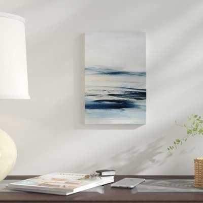 'Drifting Tides II' Print on Canvas - Wayfair