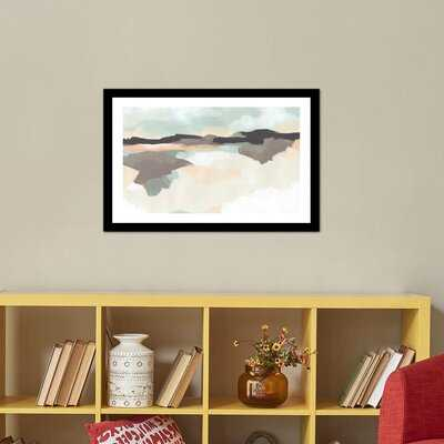 Dreaming Fields II by June Erica Vess - Picture Frame Painting Print on Paper - AllModern