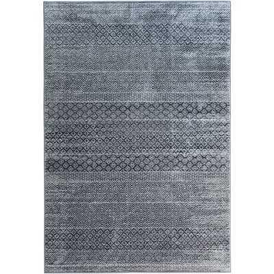 Saroyan Gray/Blue Area Rug - Wayfair