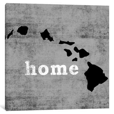 'This is Home Series: Hawaii' Graphic Art Print on Canvas - Wayfair