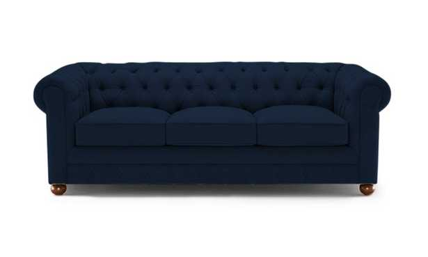 Blue Liam Mid Century Modern Sleeper Sofa - Royale Cobalt - Medium - Joybird