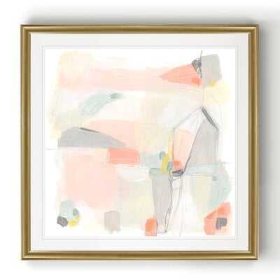 Pastel Prism I - Picture Frame Painting Print on Canvas - Wayfair