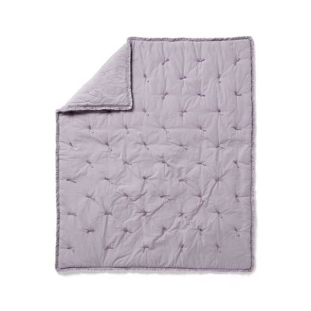 Fringe Baby Quilt - Crate and Barrel