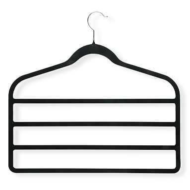 4-Tier Pant Hangers, Set of 2, Black - Pottery Barn Teen