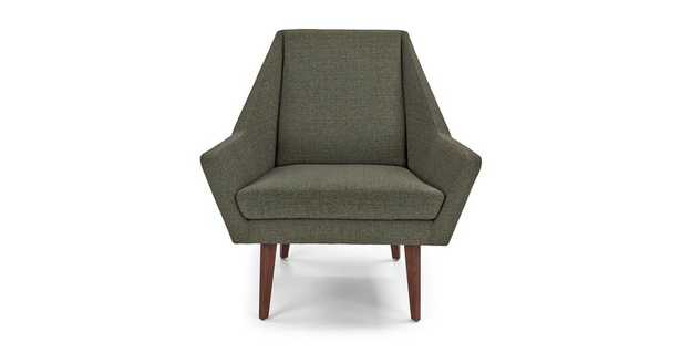 Angle Hemlock Green Chair - Article