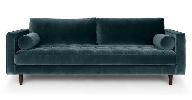Sven Pacific Blue Sofa - Article