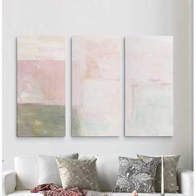 A Premium 'Morning Meditation II' Print Multi-Piece Image on Canvas - Wayfair