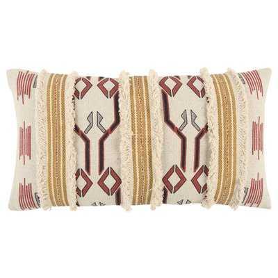 Brents Decorative Cotton Lumbar Pillow - AllModern