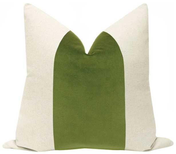 "PANEL :: Signature Velvet // Meadow - 22"" X 22"" - Little Design Company"