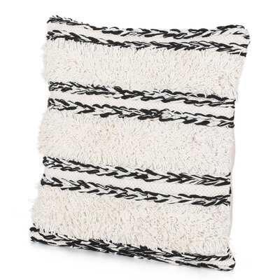 Cannock Boho Cotton Throw Pillow Cover - Wayfair