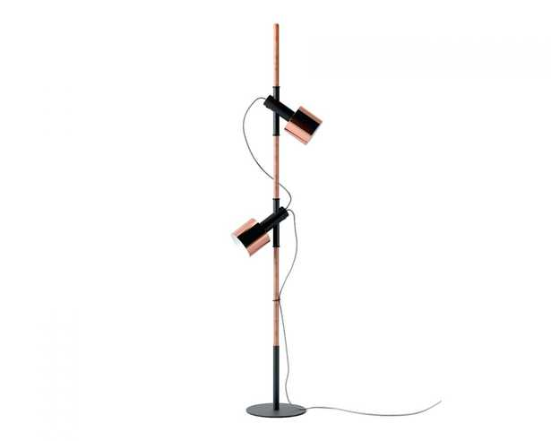 Jasper Floor Lamp - Copper/black - Copper Finish - Rove Concepts