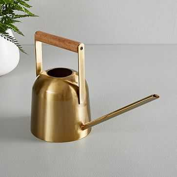 The Sill Watering Can, Brass - West Elm