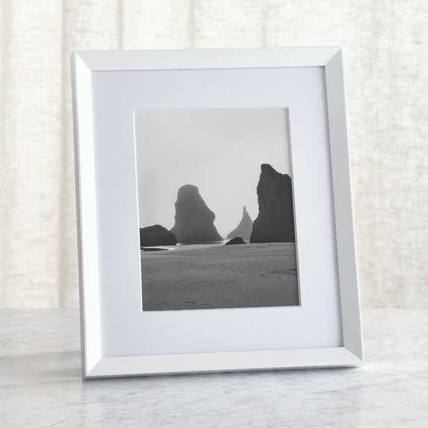 Icon 8x10 White Picture Frame - Crate and Barrel
