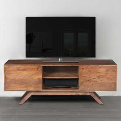 Rider Acacia Wood TV Stand for TVs up to 62 - Wayfair