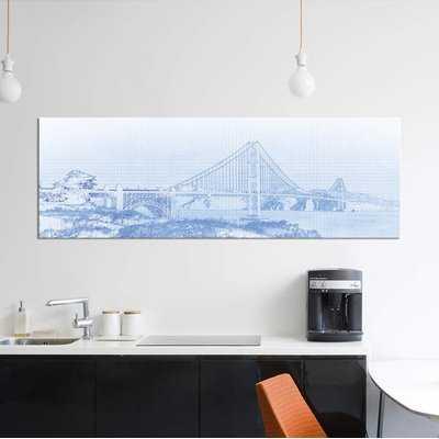 'Golden Gate Bridge, San Francisco, San Francisco County, California, USA' Graphic Art Print on Canvas - Wayfair