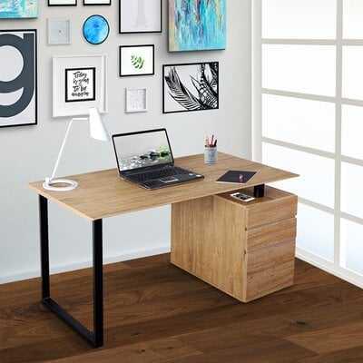 Michaelson 3 Drawer Computer Desk - Wayfair