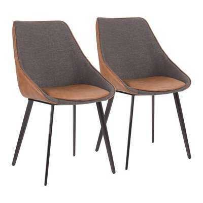 Patino Upholstered Dining Chair (Set of 2) - Wayfair
