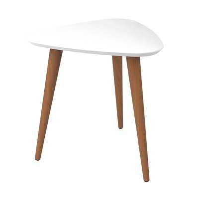 Lemington End Table with Splayed Wooden Legs - Wayfair