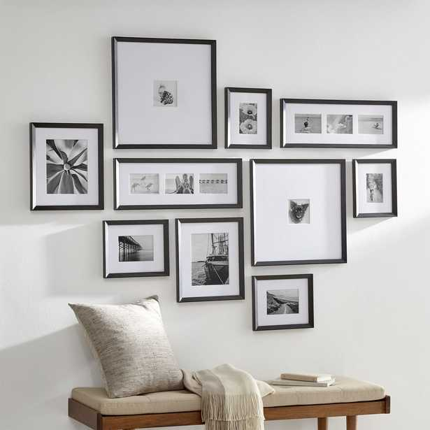 Icon Black Frame Gallery, Set of 10 - Crate and Barrel