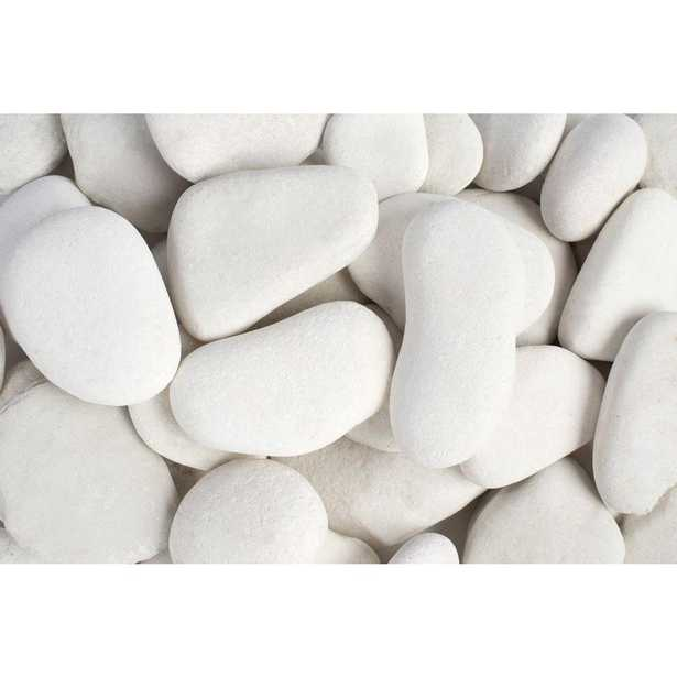 3 in. to 5 in., 30 lb. Large Flat Egg Rock Caribbean Beach Pebbles - Home Depot