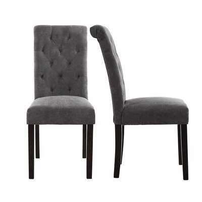Barbagallo Tufted Upholstered Parsons Chair (Set of 2) - Wayfair