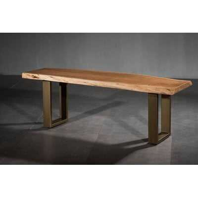 Setser Dining Wood Bench - Wayfair
