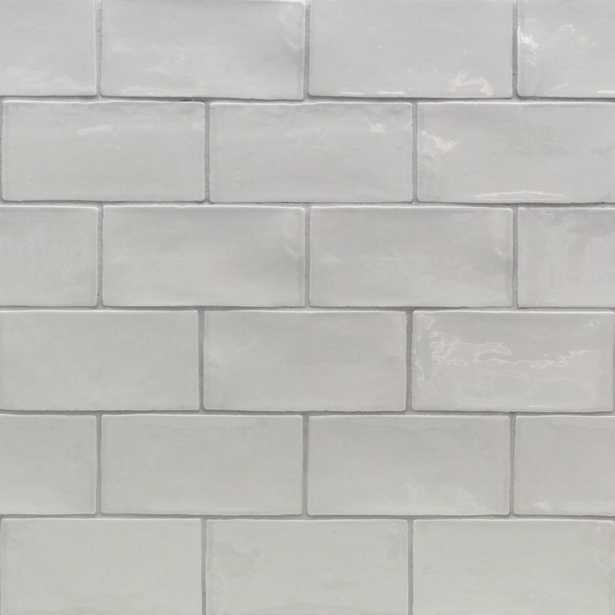 Splashback Tile Catalina Gris 3 in. x 6 in. x 8 mm Ceramic Wall Subway Tile - Home Depot